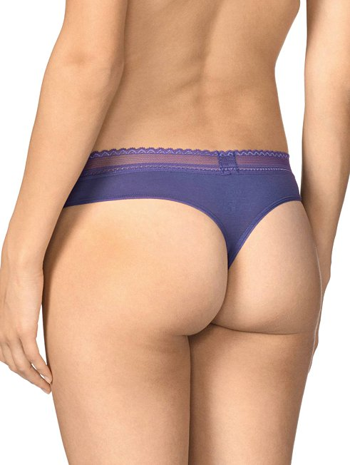 CALIDA Allure Lace String-Panty, low cut
