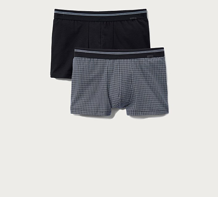 COTTON BOXER BRIEF IN A 2-PACK